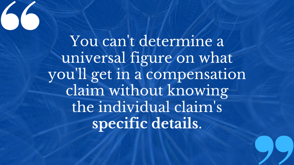 Make a personal injury claim with The Compensation Experts.