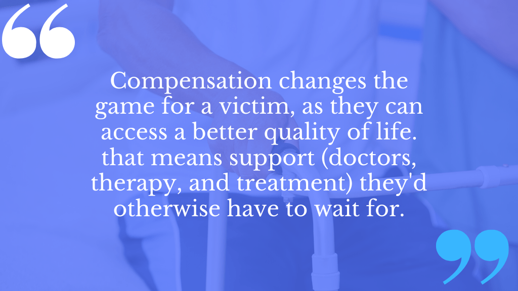 post traumatic arthritis compensation UK