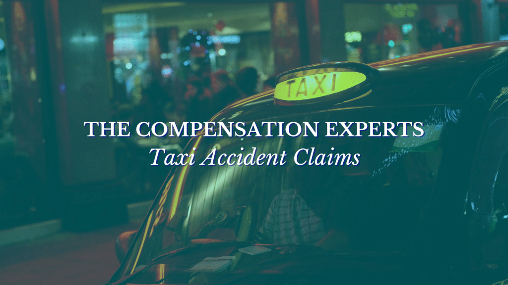 Taxi Accident Claims from The Compensation Experts