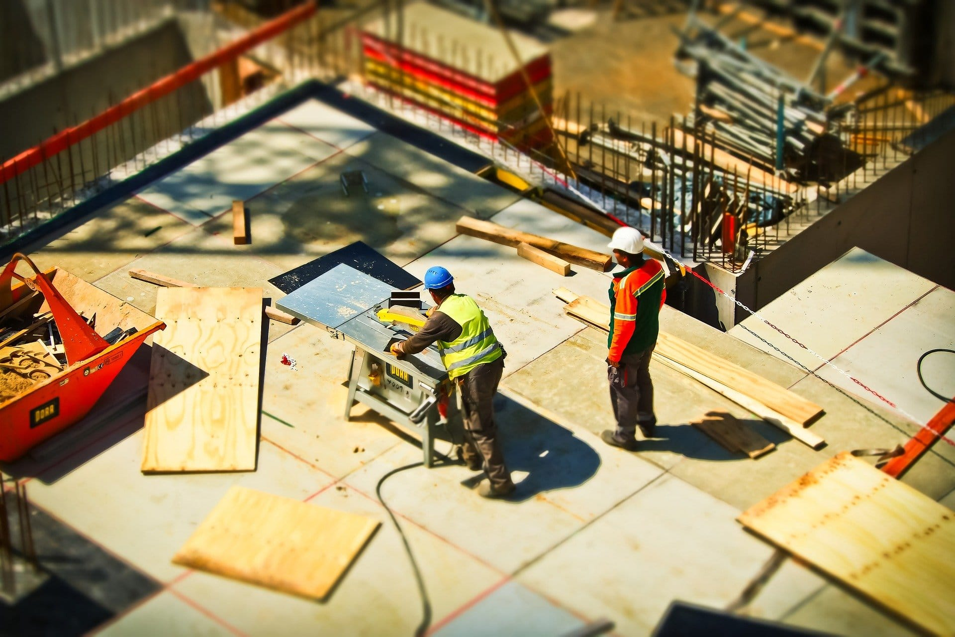 serious injuries on construction site